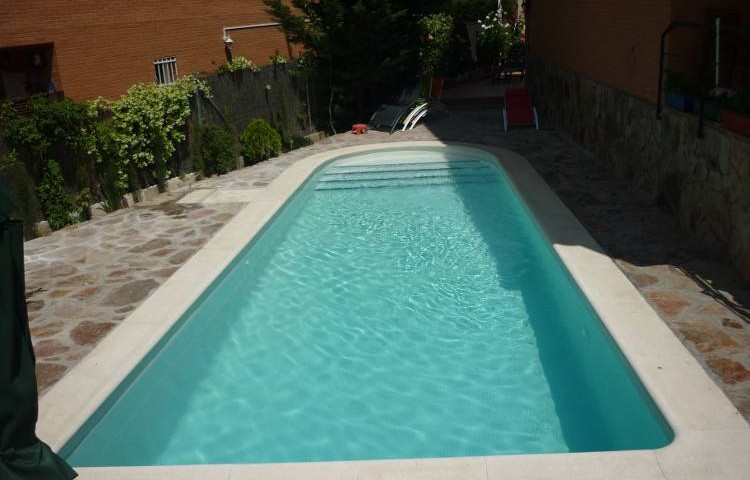 gresite blanco para piscinas great stunning piscina