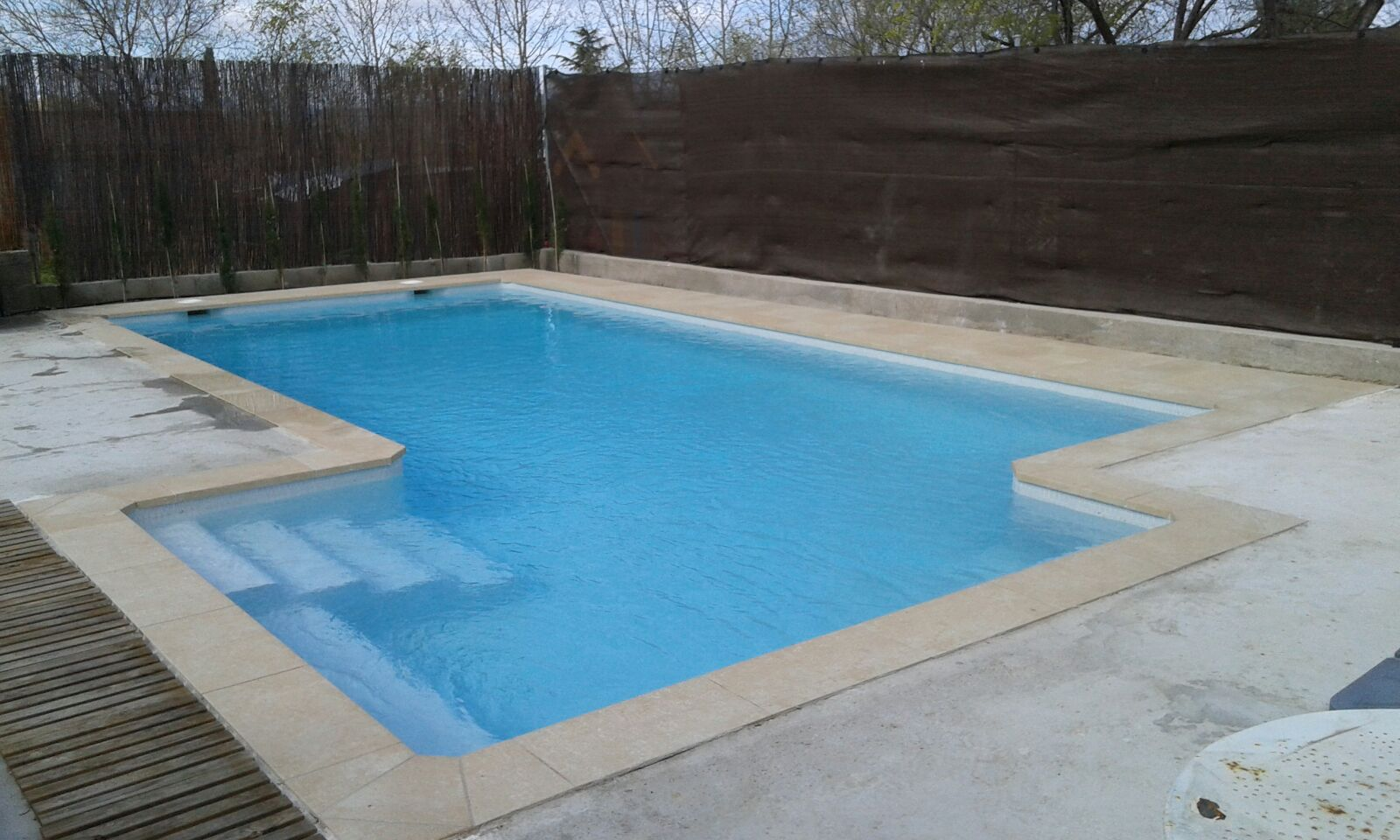Coste piscina awesome piscina with coste piscina awesome for Piscinas super baratas